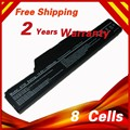 Bateria de 8 células para hp compaq business notebook 6720 s 6730 s 6735 s 6820 s 6830 s 510 511 610 615 550 HSTNN-LB51 HSTNN-OBS1 KU532AA