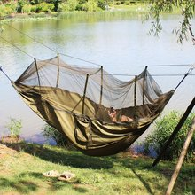 Wnnideo Ultralight Parachute Hammock with Mosquito Nets for Outdoor Dark Green Tent & Buy parachute tents and get free shipping on AliExpress.com