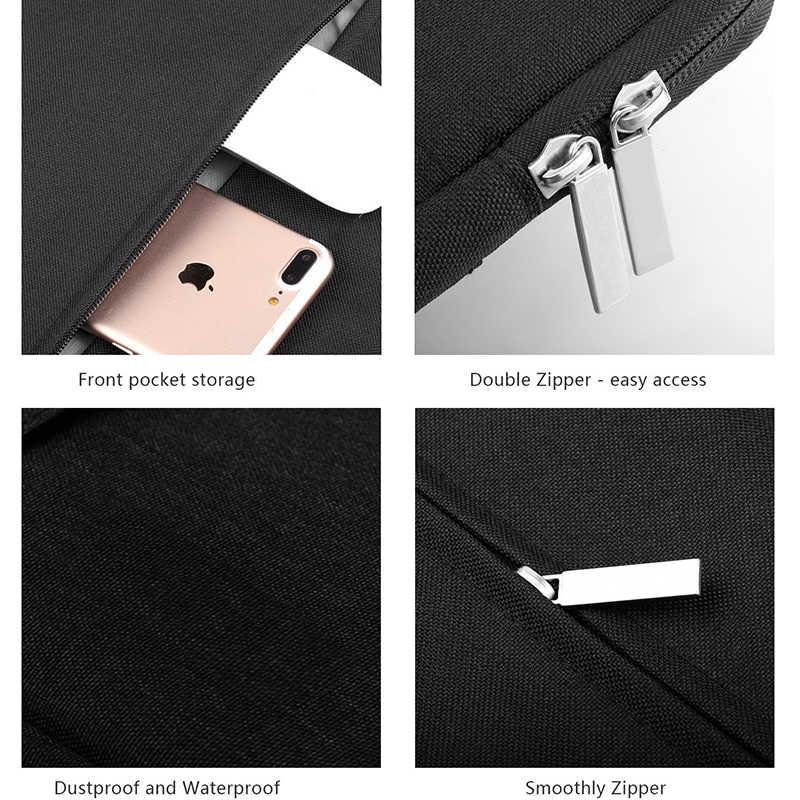 耐震タブレット Kindle の 6 インチ Macbook 11 13 12 15 インチのジッパーナイロン防水バッグユニバーサルライナースリーブポーチ