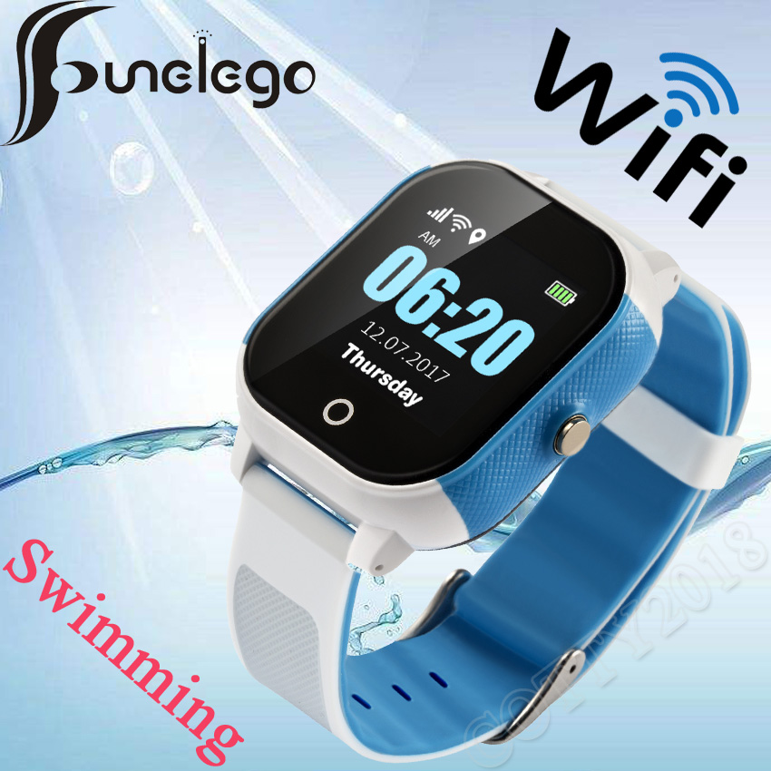 Funelego Waterproof Children Watch With GPS Wifi Swimming Watch Touch Screen SOS Smart Watch Phone For Kids Safe Anti-LostFunelego Waterproof Children Watch With GPS Wifi Swimming Watch Touch Screen SOS Smart Watch Phone For Kids Safe Anti-Lost