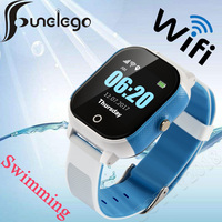 Funelego Waterproof Children Watch With GPS Wifi Swimming Watch Touch Screen SOS Smart Watch Phone For Kids Safe Anti Lost