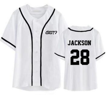 Got7 Baseball T-shirt Fashion 1