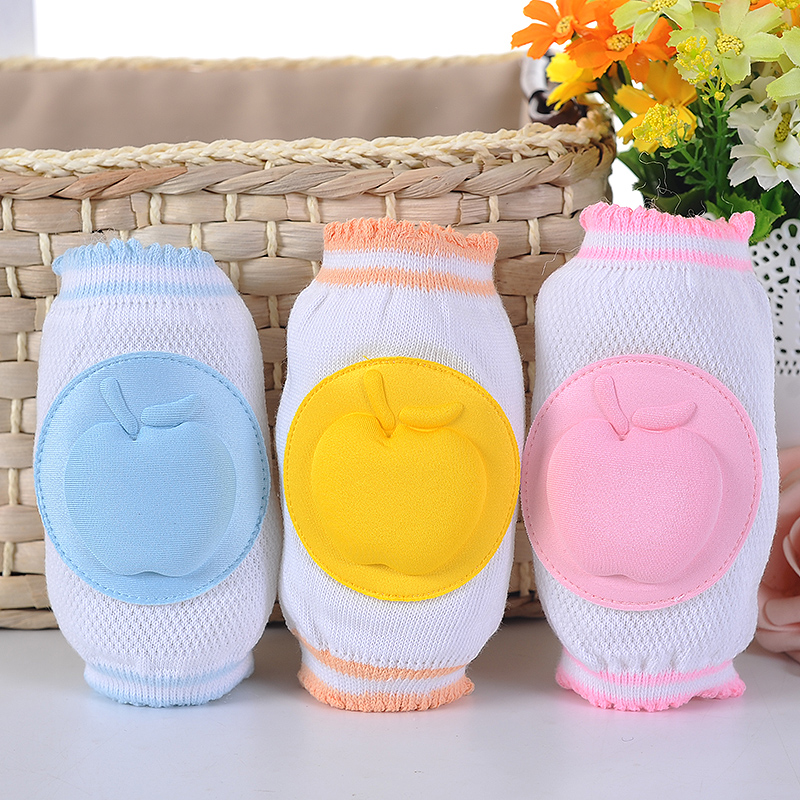 Baby crawling Knee Pads Kids Children safety crawling elbow cushion Protection Boy Girl Elbow Protective Safety Kneepad A0033