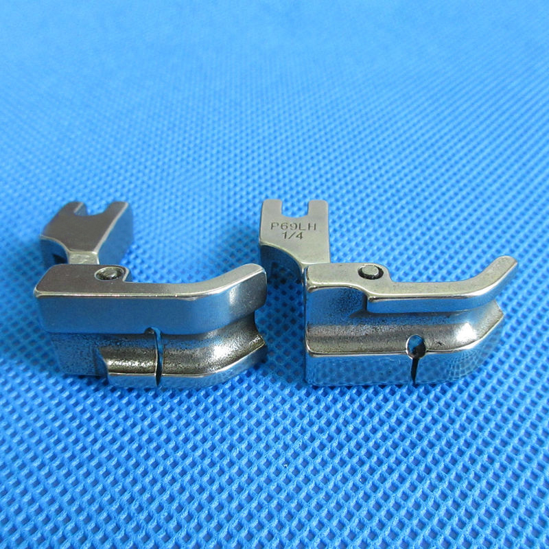 INDUSTRIAL SEWING MACHINE CORDING ZIPPER FOOT LEFT FITS SINGER BROTHER