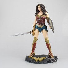 Wonder Woman Action Figure Justice League Anime Model Toy Collectibles Toys For Children Hand Decoration Gifts