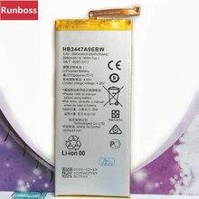 2680mAh Battery HB3447A9EBW For Huawei P8 Ascend P8 Huawei P8 GRA-L09 5.2 inch Smartphone Battery стоимость