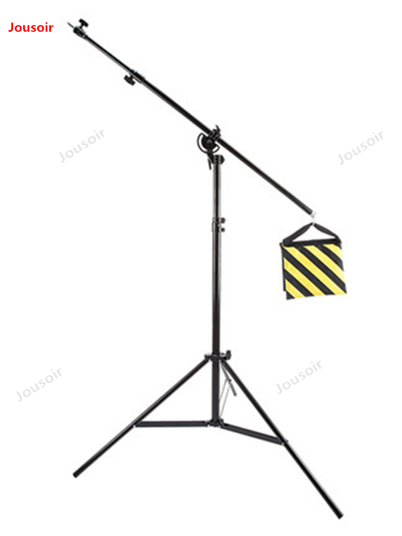 Photographic top light stand photographic equipment Accessories dual-use flash lamp frame with boom arm lamp frame CD50 T03Photographic top light stand photographic equipment Accessories dual-use flash lamp frame with boom arm lamp frame CD50 T03