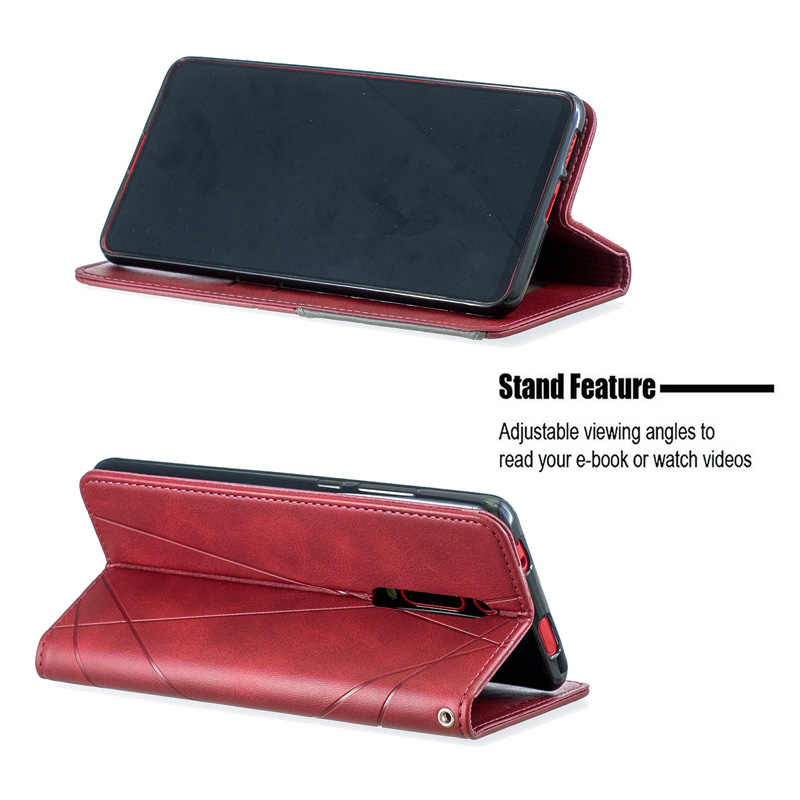 PU Leather Phone Case Wallet Cover For Xiaomi Redmi Note 8 7 7A K20 Pro Smartphone Funda For Xiomi MI 9T Flip Stand Case Coque