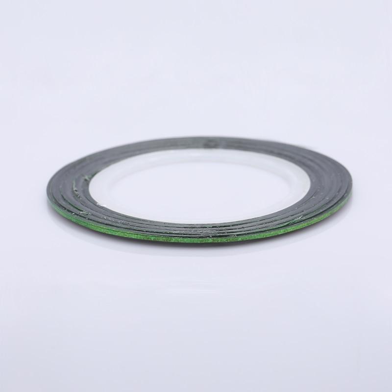 2 мм матовый блеск для ногтей, Чередование ленты линия разноцветные, для ногтей инструмент для укладки волос Стикеры наклейка DIY украшения для ногтей - Цвет: 22