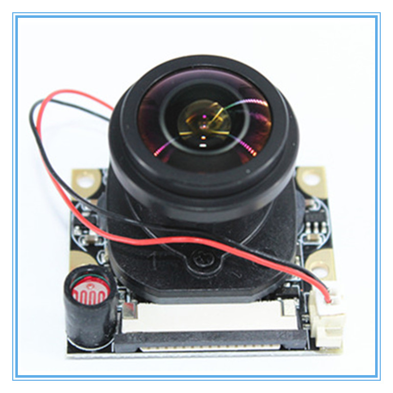 Raspberry PI 3 generation B type 175 degree night vision large lens automatic switching IR-CUT raspberry pie cameraRaspberry PI 3 generation B type 175 degree night vision large lens automatic switching IR-CUT raspberry pie camera