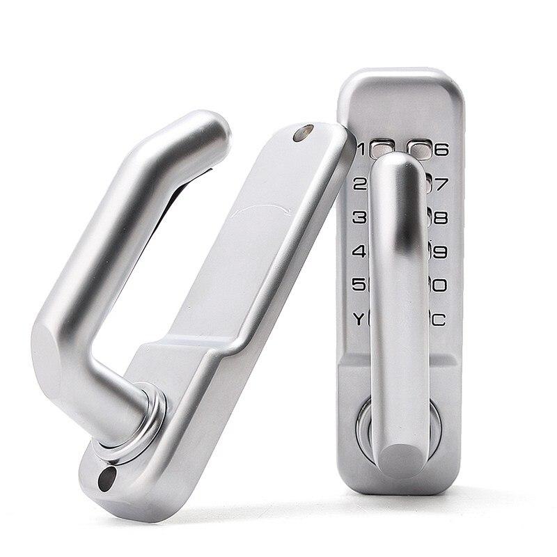 NEW Mechanical Door Locks Keyless Digital Machinery Code Keypad Password Entry Door Lock Zinc Alloy door yale locks