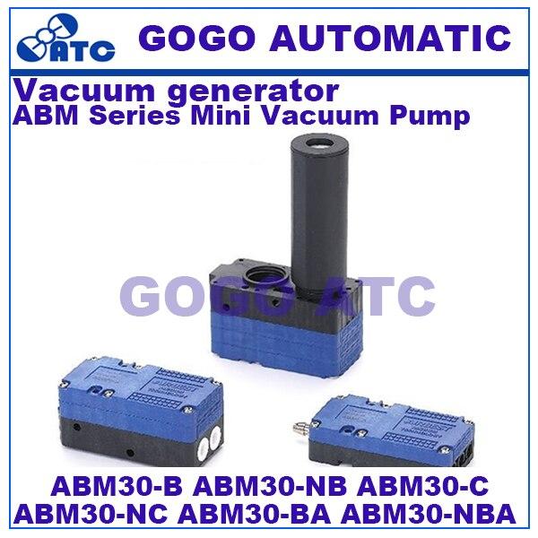 High quality Vacuum generator ABM30 B C NBA NB NC BA 0 3KW 85kPa 220L min