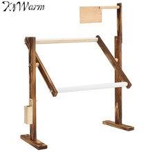 Полезная 1 компл. твердой древесины вышивки крестом стойки деревянная подставка Desktop вышивки крестом Вышивка Рамка китайской вышивки крестом инструмент 30*40*47 см