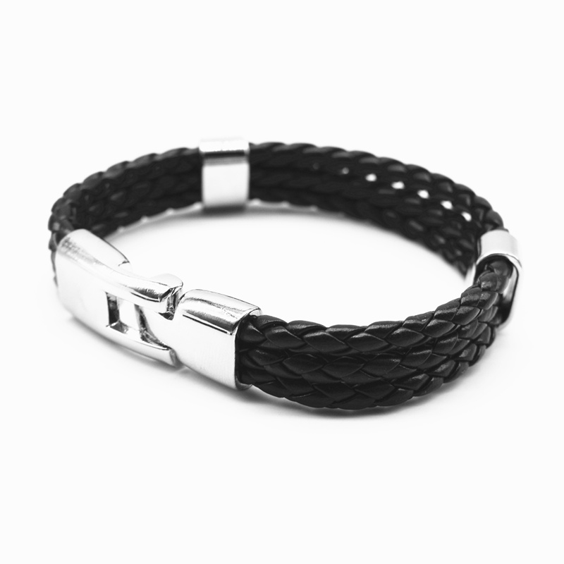 17 Fashion Unisex Jewelry Red String Bracelet 3 Layer Handmade Braided Leather Rope Men Women Hand Strap Charm Bracelet 5