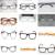 FAZER ÓCULOS POR ESCOLHER Custom made lentes ópticas óculos de leitura miopia FRAME Ótico óculos + 1 + 1.5 + 2 + 2.5 a + 8-1-1.5-2-2.5 para-8