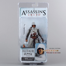 Free Shipping Cool 7″ NECA Assassin's Creed Altair Player Boxed PVC Action Figure Limited Edition Collection Model Toy MVFG028