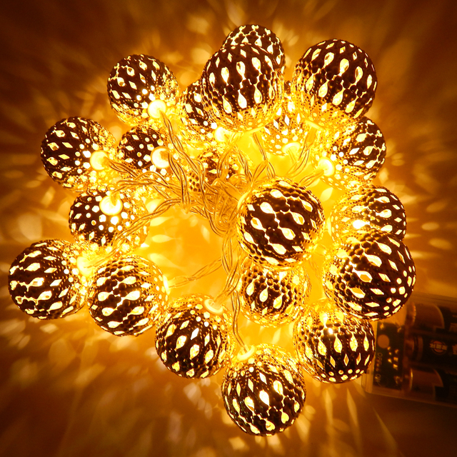 5m ball heart shape led string lights battery operated with 20 5m ball heart shape led string lights battery operated with 20 leds christmas wedding decorative mozeypictures Choice Image