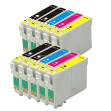 10pk T129 T1291 Ink cartridges for WorkForce WF-7015, WorkForce WF-7515, WorkForce WF-7525, Printer снпч epson workforce wf 7515