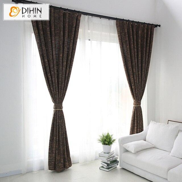 verduisteringsgordijn dikke faux linnen gordijnen woonkamer gordijnen voor slaapkamer moderne gordijnen