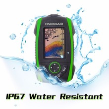 Promo Wireless Depth Sounder Fish Finder Alarm Underwater Fishing Camera Echo Sonar Sensor Fishfinder Detector Transducer in English
