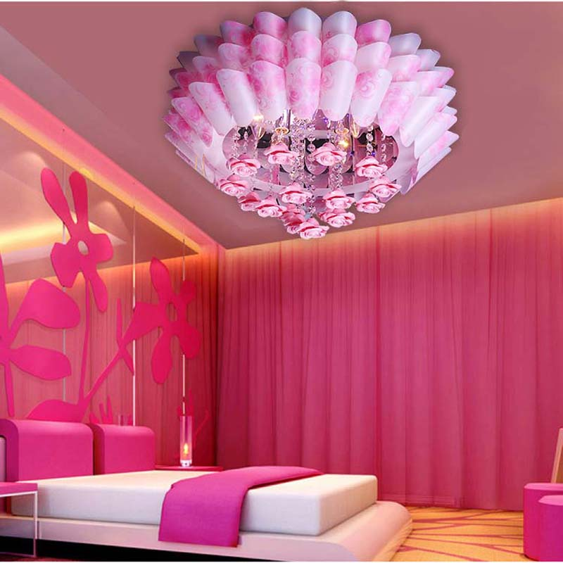 Panic pink bedroom lights LED Ceiling Lights modern minimalist ...