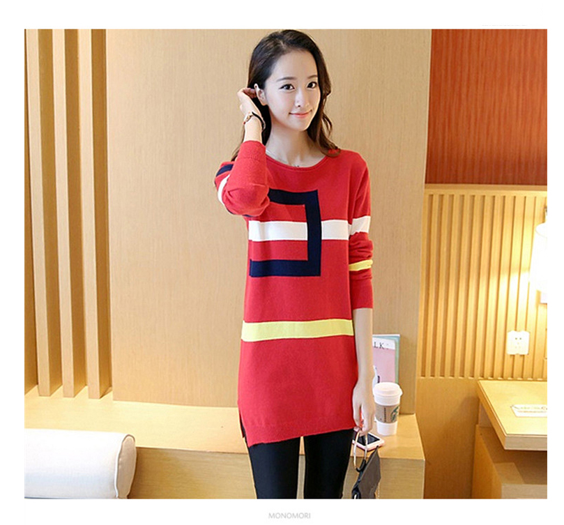18 DRL sweater women Basic woman sweater pullovers long sleeve Jumper Long Sleeve Sweaters Autumn Winter pull femme hiver 14