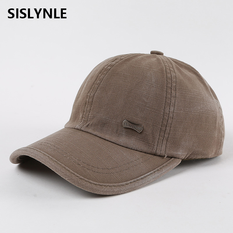 Wash baseball caps cotton snapback spring casquette hat comfortable casual hats baseball cap men casquette homme dad hat cap men [boapt] metal label cotton summer male baseball caps for women hats branded solid color men s hat casual snapback cap casquette