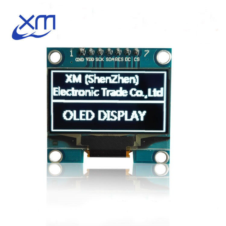 1PCS 1.3 OLED module white color SPI 128X64 1.3 inch OLED LCD LED Display Module For 1.3 SPI Communicate D13 for Arduino
