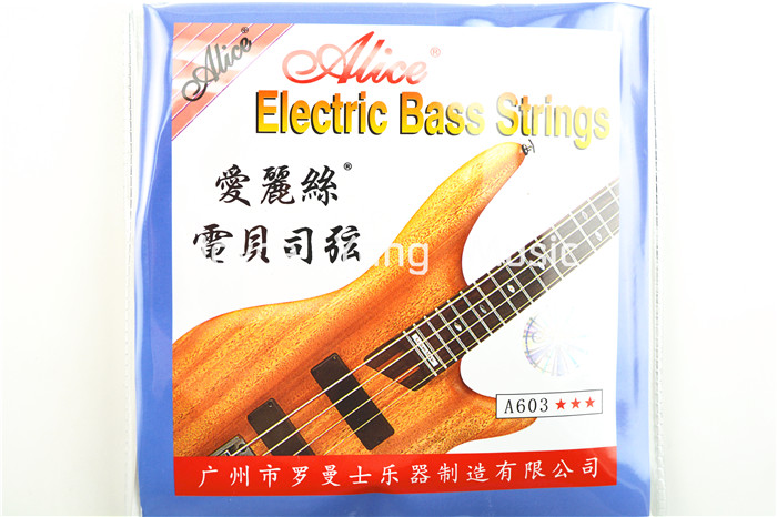 Alice A603-M/L Electric Bass Strings 4 Strings Bass Nickel Alloy Wound 045-105(040-95)in. Free Shipping free shipping 30inch children electric bass suitable for professional performance 30 inch bass goods in stock outstanding play