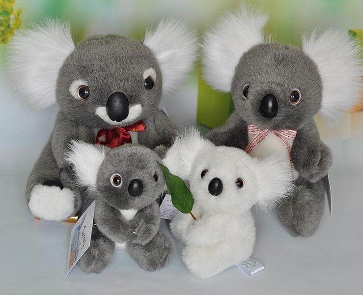 Koala  Plush  Doll  Toys For Children  Holding Flag  Kawaii One Piece