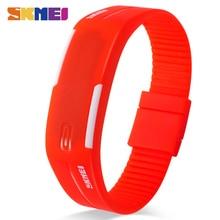 SKMEI 2018 Homens Mulheres Digital Led Sport Watch Casual Relógios de Silicone À Prova D' Água Relógio de Pulseira de relógio de Pulso Relogio masculino 1099