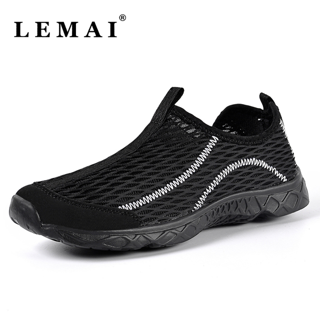 4 Colors Summer Quick Drying Flat Mesh Water Sneakers Shoes Sport Walking Shoes