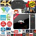 H96 Pro Android 6.0 TV Box Amlogic S912 Octa Core Android 6.0 3G RAM 16G ROM LAN Bluetooth Doble Banda WIFI 3D/4 K Smart TV CAJA