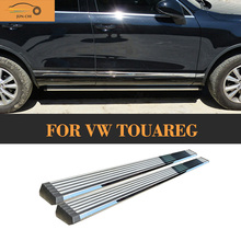 Aluminum alloy Auto side door pedal for touareg car side footplate for VW touareg 2011 UP