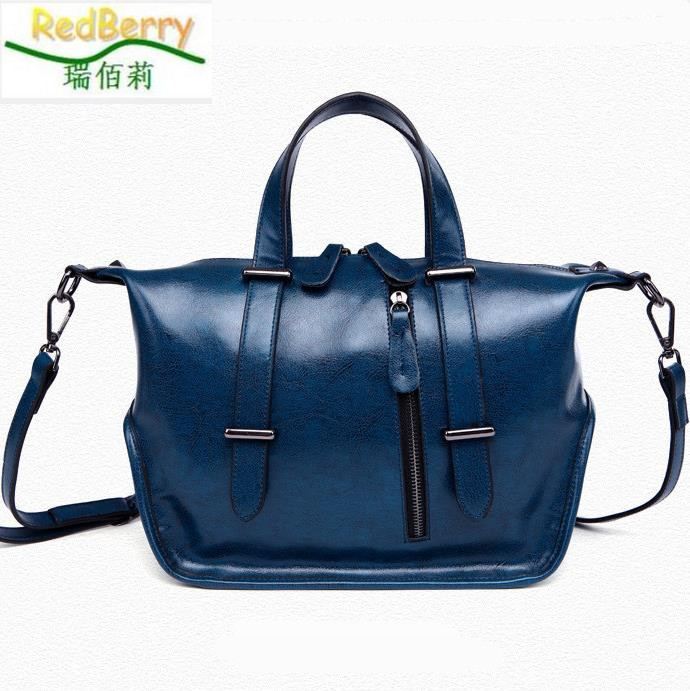 2015 New Arrivel Hobos Women Handbag Genuine Leather Bag Famous Brand Designer Bags For Women Shoulder Messenger Bag bolsos dama new genuine leather women bag messenger bags casual shoulder bags famous brand fashion designer handbag bucket women totes 2017