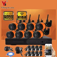 8CH 960P HD Wireless Network IP Security Camera System WIFI NVR Kits 8PCS 1 3 Megapixel