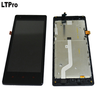 Top Sale Test Work Redme LCD Display Touch Screen Digitizer Assembly Frame For Xiaomi Red Rice