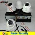 Dahua 720 P hdcvi комплект 4ch системы видеонаблюдения XVR4104HS Видео Рекордер HDCVI HAC-HDW1100C infrate 20 М cctv камеры безопасности