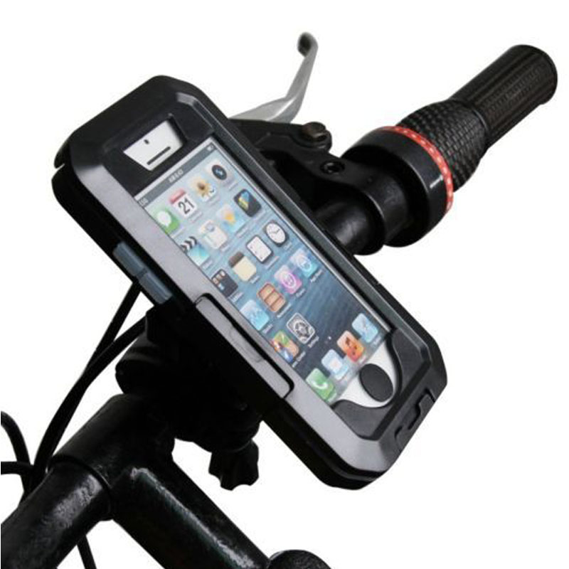 Bicycle Phone Holder protector case For samsung galaxy s9 s8 plus s7 s6 edge Support Mobile Phone Stand Waterproof Bag cover in Phone Holders Stands from Cellphones Telecommunications