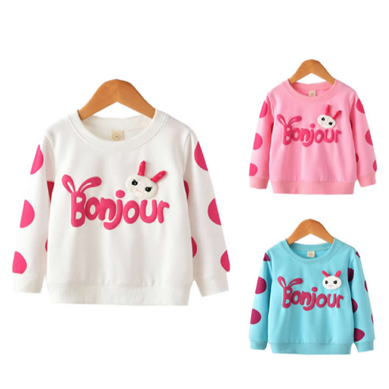 Girl's Thin Sweater Spring Clothes Jacket Bottoming Shirt Baby Girls Sweatshirt Kids Long Sleeve Tops Girl T shirts Kdis Hoodies knit cold shoulder bottoming t shirts in black