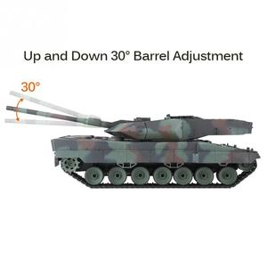 Image 5 - Heng Long 2,4 GHz RC Leopard Tank 1/16 Fernbedienung Deutsch Leopard 2 A6 Schlacht Tank Welt Simulation Sound Tank modell Spielzeug