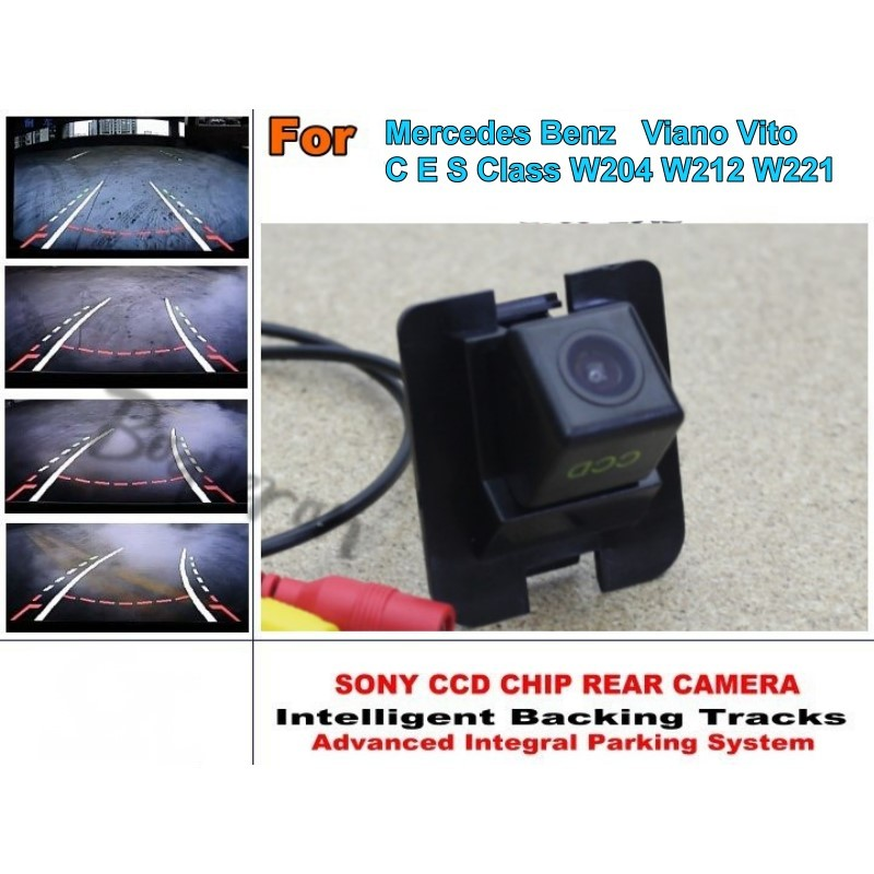 Handle Cam In Many Styles Fits 2012-2014 Mercedes-benz C-class W204 Rearview Camera Interface Car Video