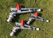 1.5/2.0 / 2.5 Zinc Alloy 360 gear drive spray water gun  irrigation nozzle Agricultural field Sprinkler