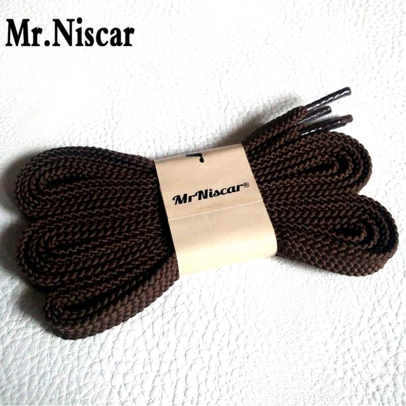 Mr.Niscar 2 Pair 100cm 120cm 140cm 160cm 180cm Polyester Shoelaces Flat Shoelace Sport Shoes Sneaker Coffee Shoe Laces Strings