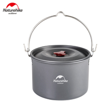 Naturehike 4-6 Person 4L Hanging Cookware High Capacity Pot Outdoor Camping Picnic Campfire Pot NH17D021-G