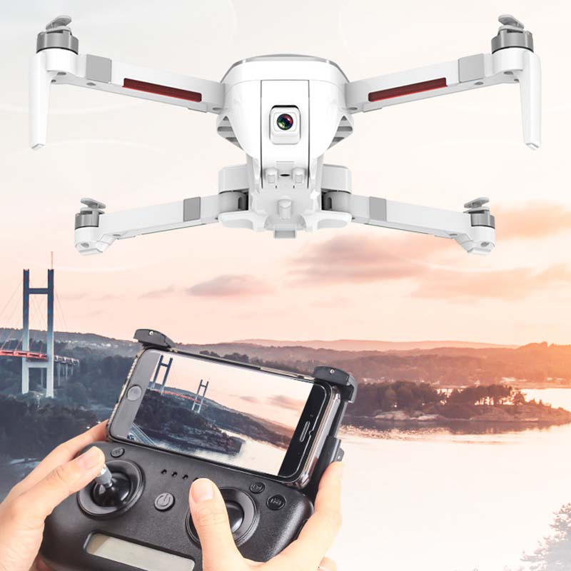 Image 4 - Folding Drone 4K HD camera Gesture photography  Long endurance Mini UAV One key return-in RC Helicopters from Toys & Hobbies