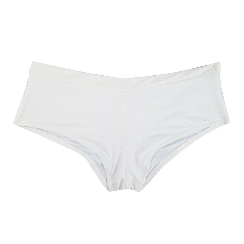 Летний женский спортивный купальный костюм, брюки, одежда для плавания, купальник с заниженной талией, сексуальные плавки для девочек с принтом, B605 - Цвет: B605A