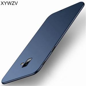 Image 2 - サムスンギャラクシー J6 プラスケース高級薄型 PC Smooth ハード電話ケース J6 プラスカバーのためサムスン J6 プラス J610