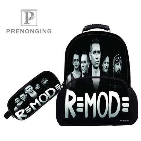 Custom 17inch depeche_mode_Backpacks Pen Bags 3D Printing School Women Men Travel Bags Boys Girls Book Computers Bag#1031-3-90 Islamabad