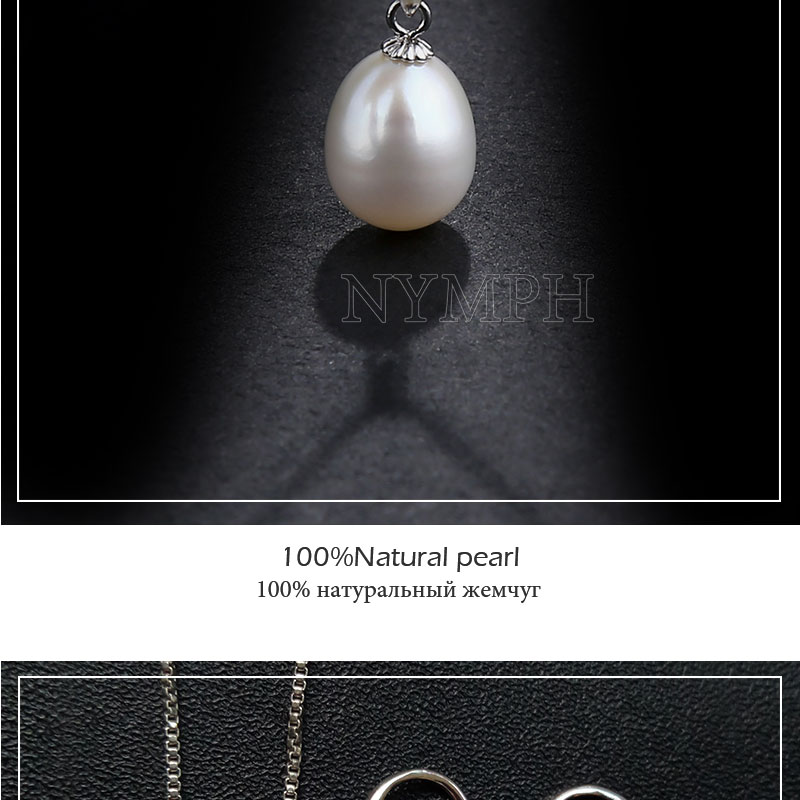 HTB12wR2kYsTMeJjy1zbq6AhlVXa5 NYMPH Pearl Jewelry Set Natural Fresh Water Pearl Necklace Pendant Earrings For Wedding Party Gift Women[tz1032]